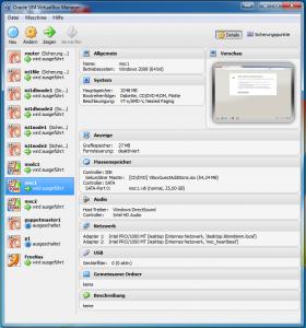 MS Cluster Node1 Vbox