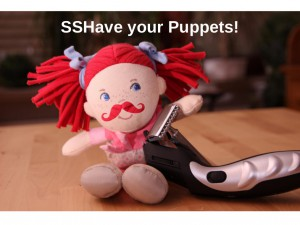 SSHave your Puppets! - Slide 01