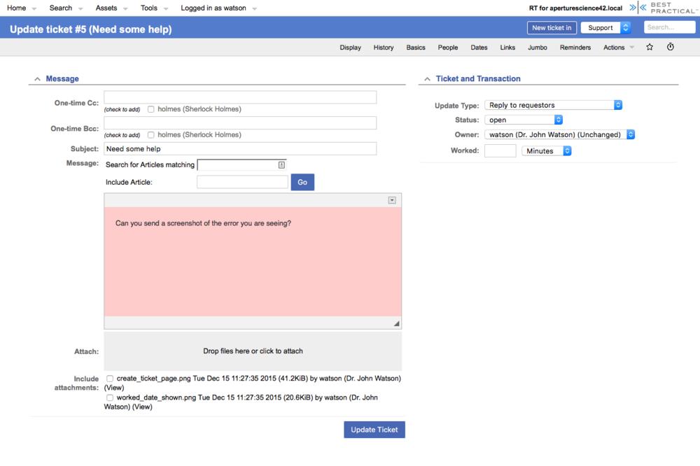 Request Tracker Netways Gmbh