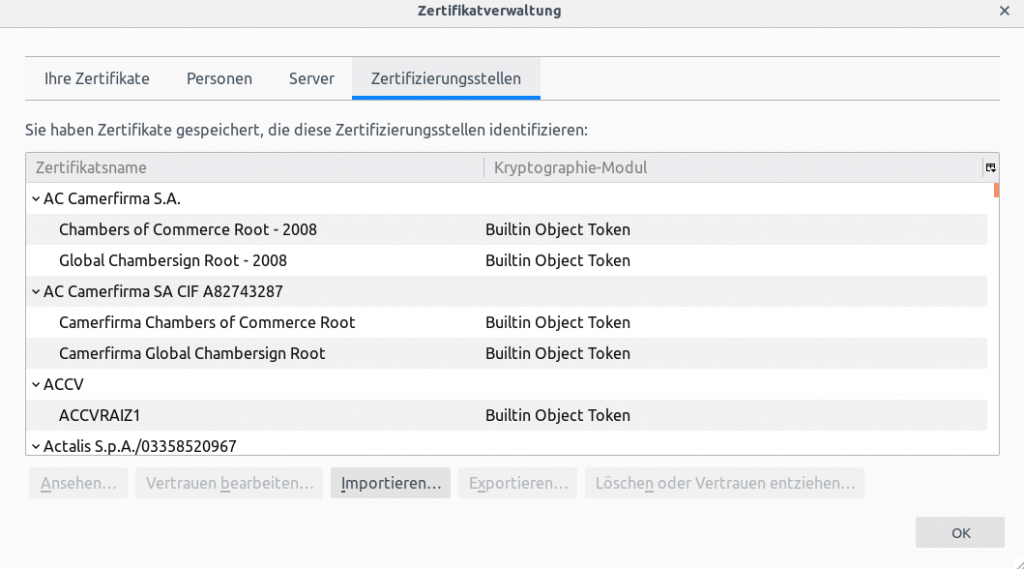 Certificate Archive Netways Gmbh