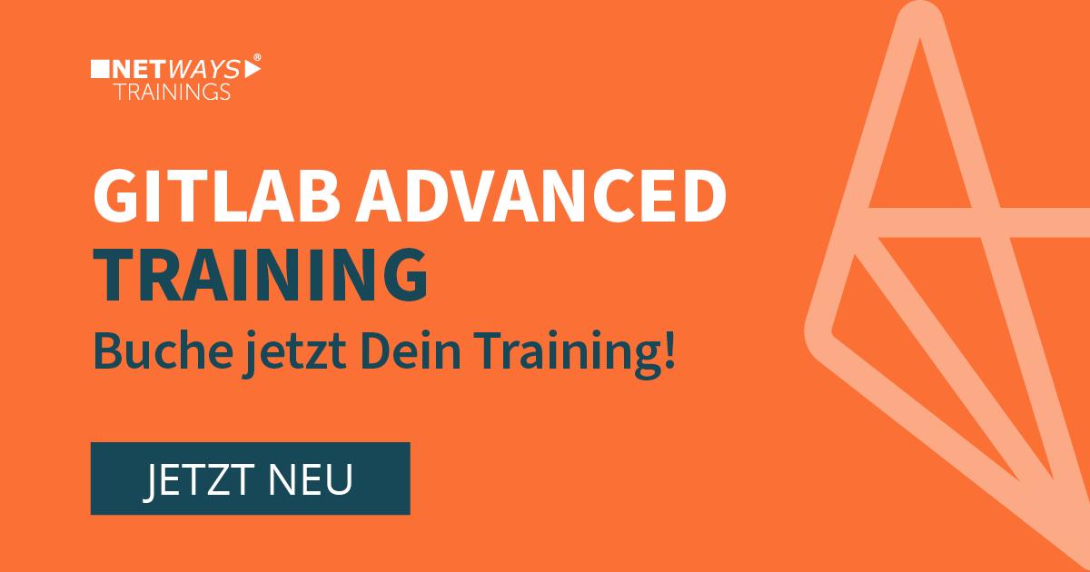 NEU! GitLab Advanced Trainings