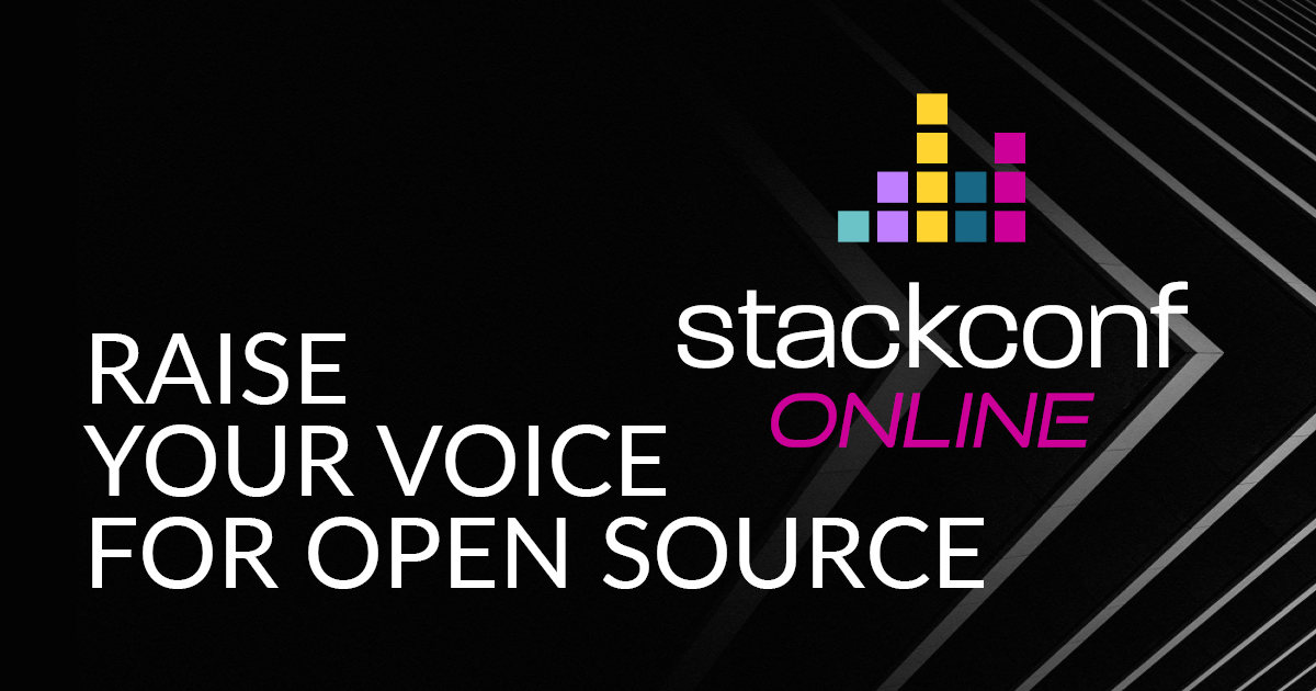 stackconf 2021 online: Call for Papers now open!