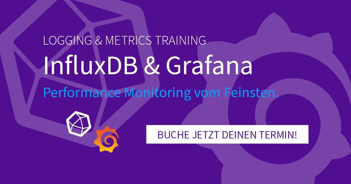 NEU! InfluxDB & Grafana Trainings – Sichere Dir jetzt Deinen Platz!