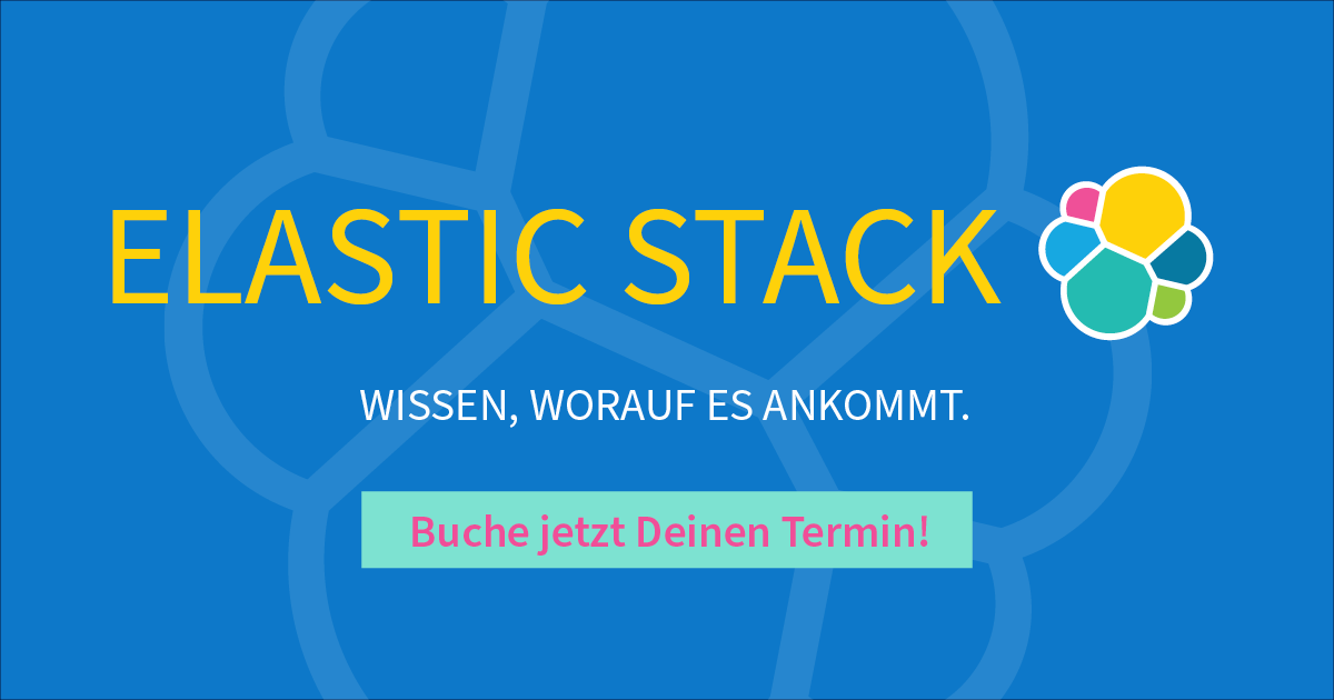 Elastic Stack Trainings – Last Minute Call