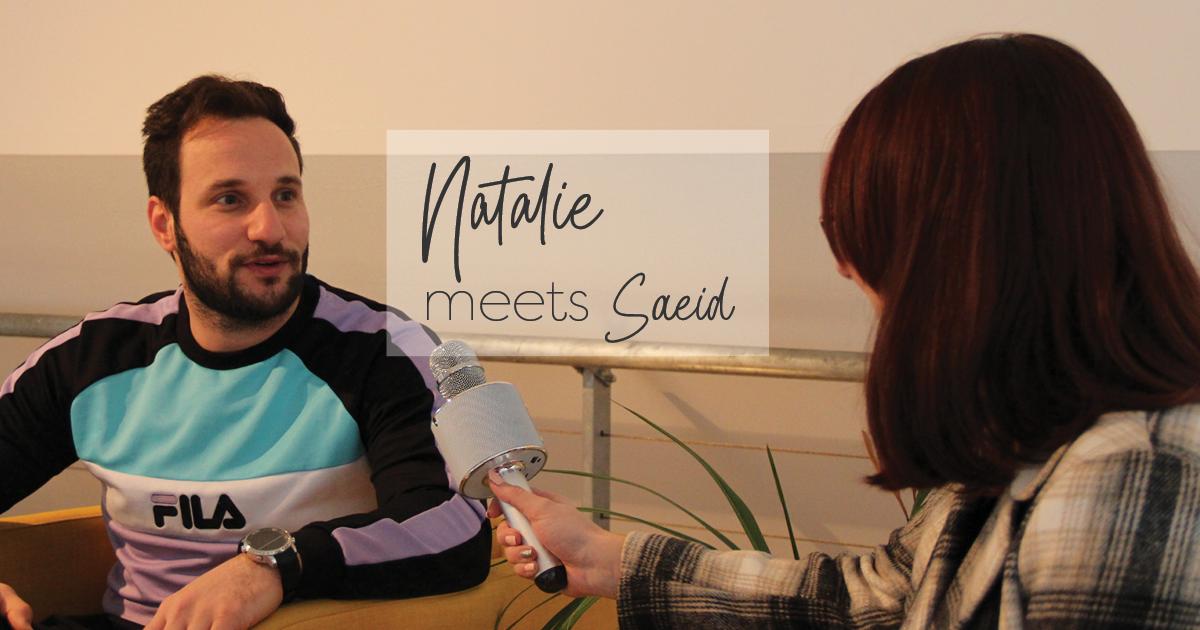 Natalie meets Saeid
