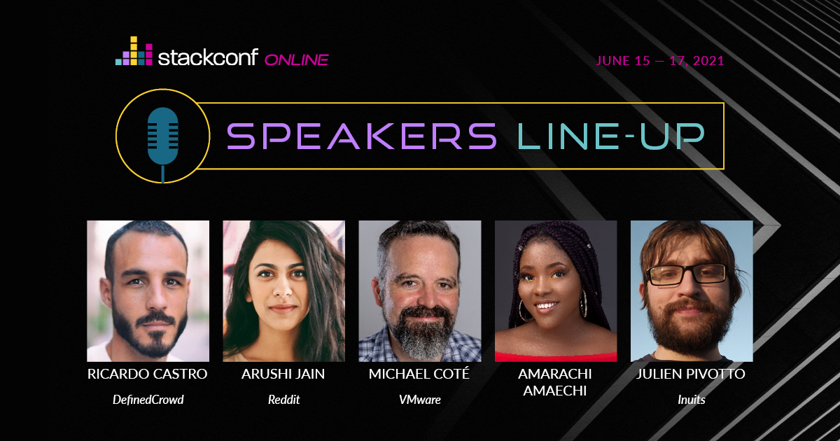 stackconf online 2021 – Speakers Line-Up & Latest News
