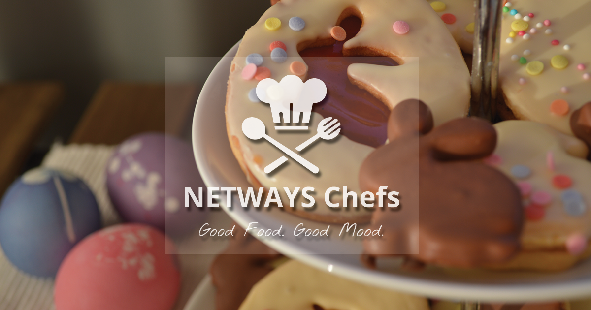 NETWAYS Chefs – Andrew backt Osterkekse!