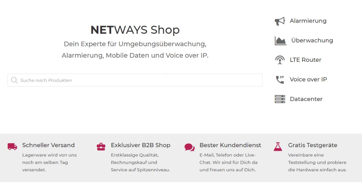 Frühlingsputz im Shop: Neue Features, neues Design