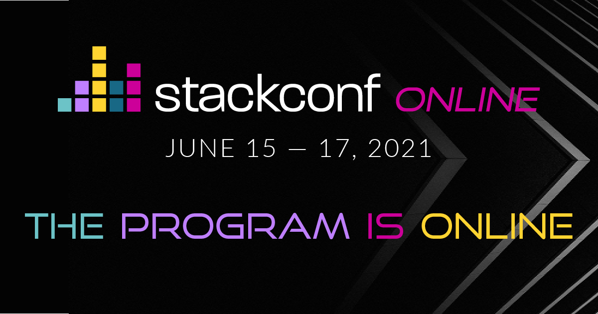 Stackconf program:  See what's in for you