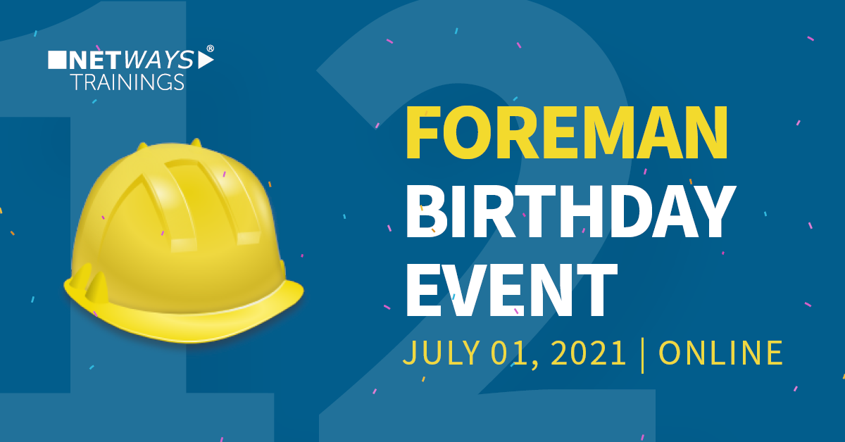 Recap of the Foreman Birthday event 2021 – It was a great experience