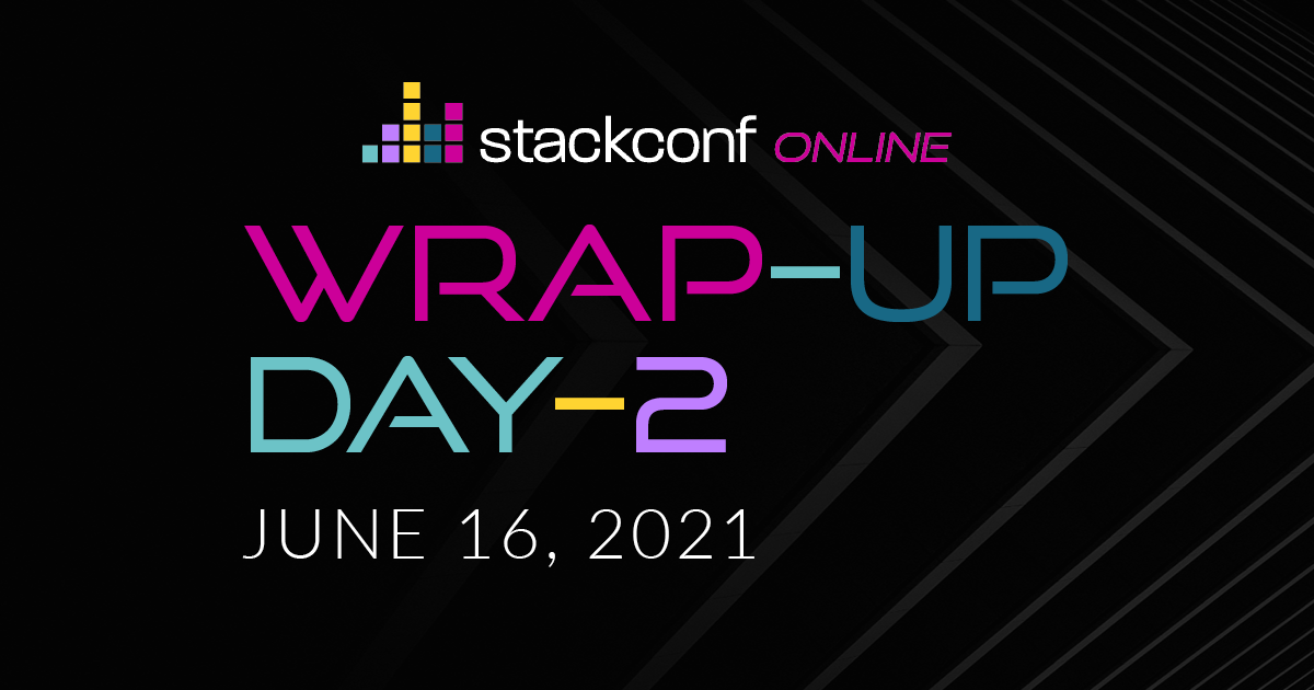 stackconf wrap up – DAY 2