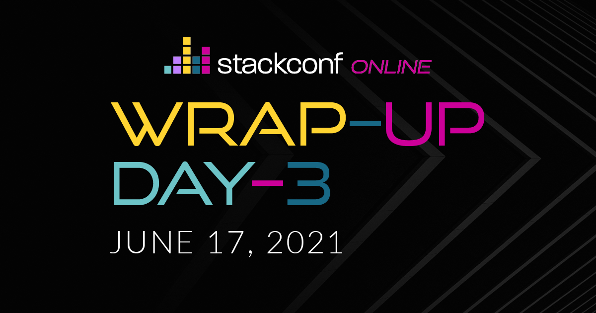 stackconf wrap up – DAY 3