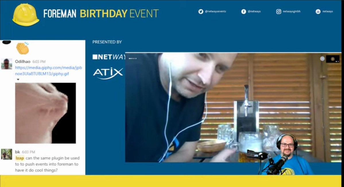 Lukáš Zapletal live on the Foreman Birthday event 2021