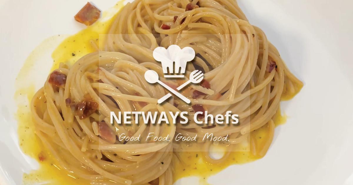 NETWAYS Chefs – Christian kocht Carbonara