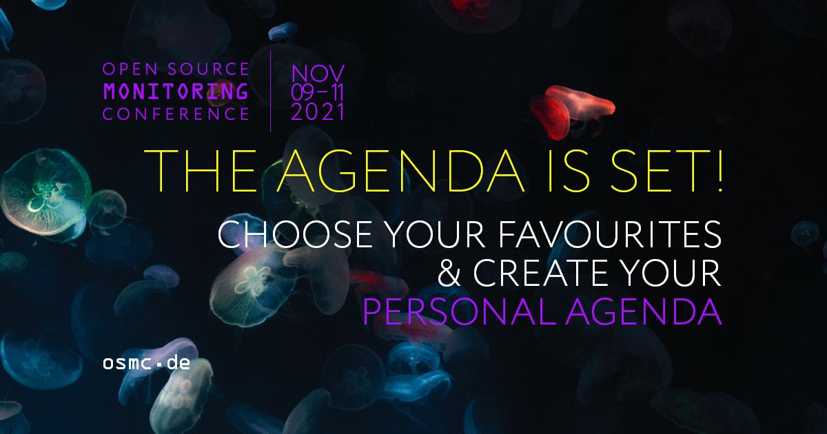 OSMC 2021: The Agenda is set!