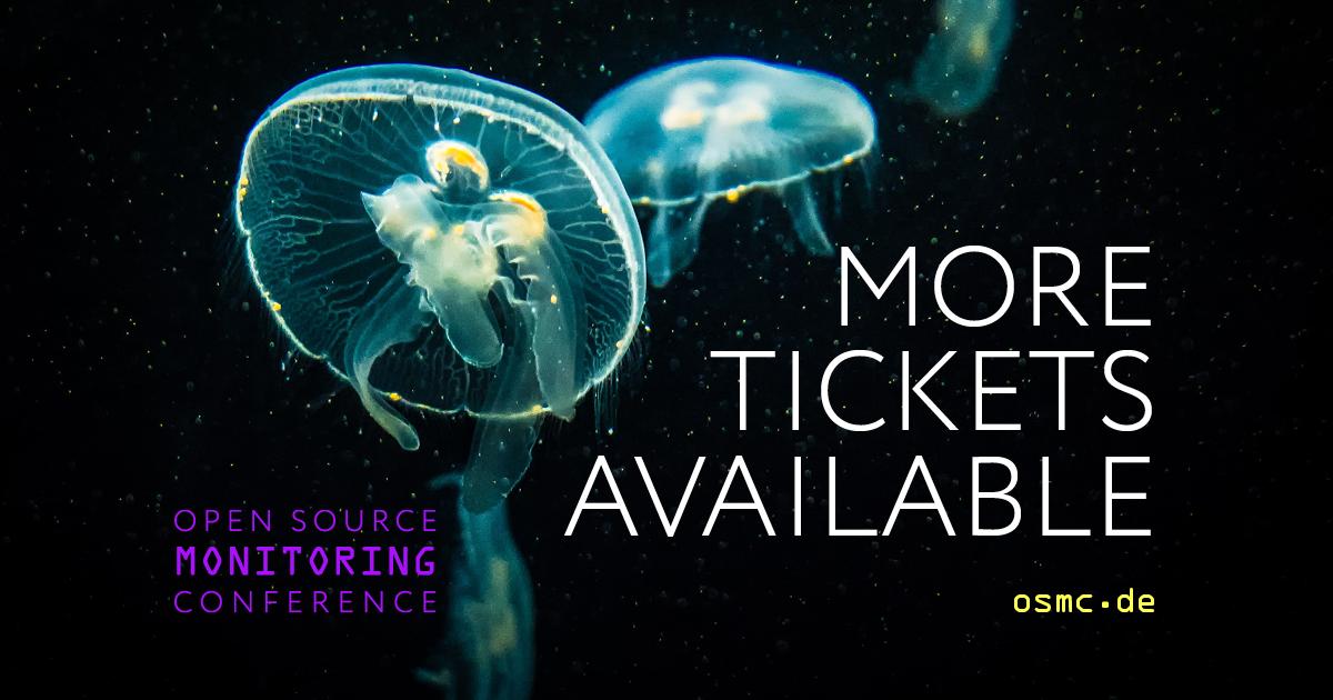 OSMC 2021: Tickets available again