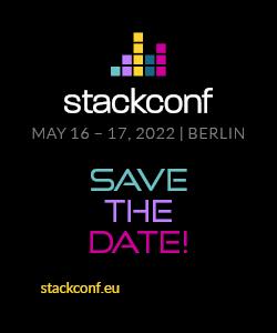 stackconf 2022 Save The Date