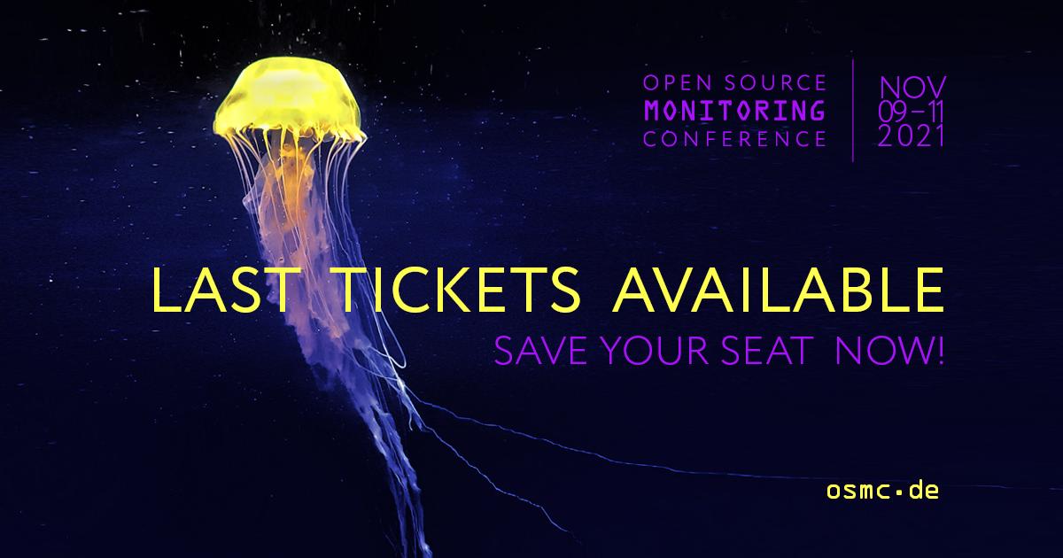 OSMC 2021: Last tickets available
