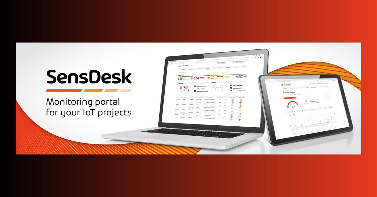 HW group: Neuerungen beim SensDesk Portal